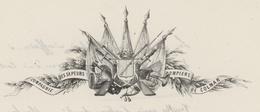 Colmar 1848 Compagnie Des Sapeurs Pompiers Héraldique - 1801-1848: Precursores XIX