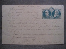 Entier Postal 1830 1905 - Haversin - Roi Léopold - Enteros Postales