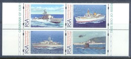 F161- 75th Anniversary Of The South Africa Navy. Ship. Transport. - Ships