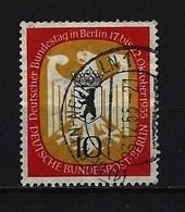 BERLIN - Mi-Nr. 129 Deutscher Bundestag In Berlin Gestempelt (3) - Berlin (West)
