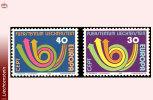 Liechtenstein 0532/33** Europa 1973  MNH - Liechtenstein
