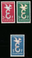 Luxembourg 0548/50* - Europa 1958 LH - Europa-CEPT