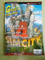 Rivista TGM The Games Machine Nr. 165 Gennaio 2003 Videogiochi PC SIM CITY NBA - Informatique