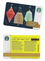Starbucks Card - Canada - JOY - 6103 Mint Pin - Gift Cards