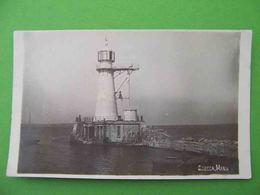 ODESSA 1930x Lighthouse. Russian Photo Postcard. - Lighthouses