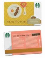 Starbucks Card - Canada - Rise & Shine - 6103 Mint Pin - Gift Cards