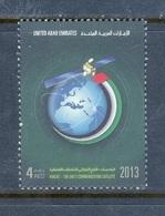 F172- UAE United Arab Emirates 2013 Uae Yahsat Uae'S Communication. Satellite Space. - United Arab Emirates (General)