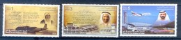 F173- United Arab Emirates 2014. History Of Aviation In Dubai. - United Arab Emirates (General)