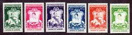 Cambodge  N°57/62 N** LUXE Cote 100 Euros !!! - Cambodge