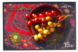 F179- United Arab Emirates 2012. Fruits Dattes Arbres Palmiers Fruit Trees Palm Dates. - United Arab Emirates