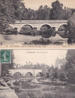 2 CP Montargis : 1) Pont De La Chaussée Et Le Loing - 2) Pont De La Chaussée - Montargis
