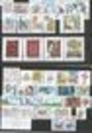 Année Complète 2010 :  41 Timbres Et 3 Blocs Feuillets (avec Les 2 Dentelures : N° 589 Et 589A) - Tchéquie
