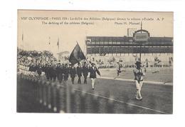 VIII è OLYMPIADE Paris 1924  ... Athlètes ( Belgique ) - Giochi Olimpici