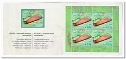 Letland 2014, Postfris MNH, Europe, Cept, Music ( Booklet ) - Letland