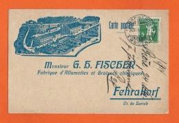 Zürich - Fehraltorf,  Fabrik Streichhölzer Und Fetten Chemisch 1914 - ZH Zurich