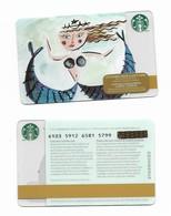 Starbucks Card - Canada - Siren - 6103 Mint Pin - Gift Cards
