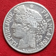 1 Franc Ceres 1887 À  - Argent - France