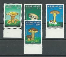180028593  BURKINA FASO.  YVERT   Nº  822/5  **/MNH - Burkina Faso (1984-...)