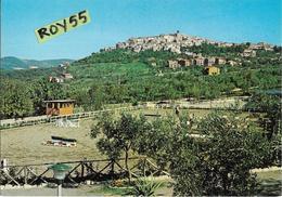 Lazio-rieti-scandriglia Veduta Panorama Del Campo Ostacoli Allevamento Razza Della Rocca - Italia