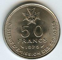 Comores Comoros 50 Francs 1975 KM 9 - Comoros