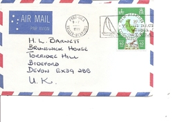 Nouvelles -Hébrides ( Lettre Par Avion De 1979 De Port-Vila Vers La Grande-Bretagne à Voir) - Covers & Documents
