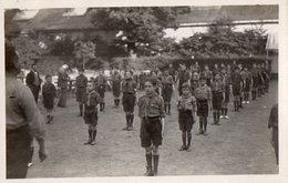 CPA 2186 - Carte Photo - SCOUTISME - Un Groupe De Scoutes - Scoutisme