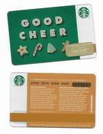 Starbucks Card - Canada - Good Cheer - 6103 Mint Pin - Gift Cards