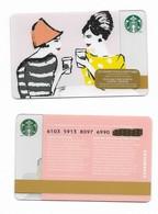 Starbucks Card - Canada - Women - 6103 Mint Pin - Gift Cards