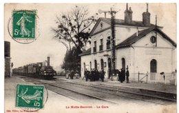 Loir Et Cher - LA MOTTE BEUVRON - Train En Gare - 1911 - Lamotte Beuvron
