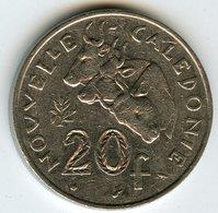 Nouvelle Calédonie New Caledonia 20 Francs 1986 KM 12 - Nouvelle-Calédonie