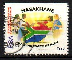 AFRIQUE DU SUD. N°890 Oblitéré De 1995. Masakhane. - South Africa (1961-...)