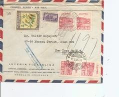 Colombie ( Lettre Par Avion De 1948 De Medellin Vers Les USA à Voir) - Colombia