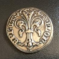 MONETA FIORINO ARGENTO 925 - Riproduzione Anni '60 Picchiani & Barlacchi - Monetary/Of Necessity