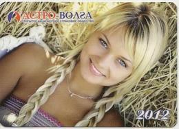 Calendar Russia - 2012 - Girl - Advertising - Beauty - Calendarios