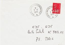 France, Poste Navale ,agences Postales , Porte Avion Arromanches En 1972 Type 3 - Sonstige
