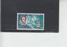 MONACO  1970 - Unificato 840° - De Lamartine - Oblitérés