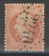 France - YT 23 - 40c Orange Oblitéré GC 2240 Marseille Bouches Du Rhône - 1862 Napoléon III
