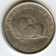 Tonga 5 Seniti 1990 FAO KM 68 - Tonga