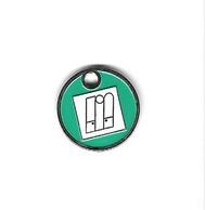 Jeton De Caddie  Ville, Blanchisserie - Teinturerie De Gros  Verso  MEDILINGE  ST  ANDRE   Recto  Verso - Trolley Token/Shopping Trolley Chip