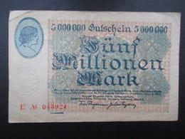 BILLET ALLEMAGNE (V1719) Fünf Millionen Mark 5000000 (2 Vues) Thyssen Hutte 1923 - 5 Millionen Mark