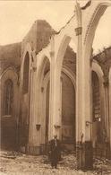 Letterhoutem : Afgebrande Kerk - Sint-Lievens-Houtem