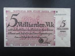 BILLET ALLEMAGNE (V1719) Fünf Milliarden Mark 5000000000 (2 Vues) Essen 15/09/1923 - [ 3] 1918-1933 : République De Weimar