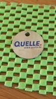 Shopping Carts / Winkelwagentjes / Jeton De Caddie -QUELLE.   Deutsche Online Shop - Trolley Token/Shopping Trolley Chip