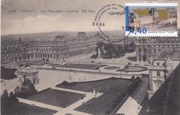 Carte-Maximum FRANCE N° Yvert 2852 (LOUVRE) Obl Sp Ill 1er Jour Sur Carte Ancienne  RRR - 1990-99