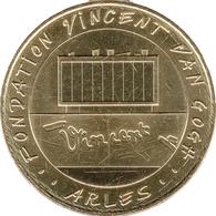 13 ARLES FODATION VINCENT VAN GOGH MÉDAILLE MONNAIE DE PARIS 2018 JETON MEDALS COINS TOKEN - Monnaie De Paris
