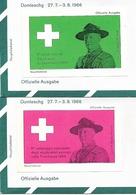 BONADUZ GR Pfadfinder-Bundeslager Domleschg Scout Eclaireur Esploratori 1966 - Scoutisme