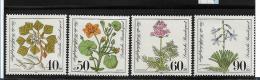 BrdMi.Nr.1108-11  / Diverse Heilpflanzen **  MNH - BRD
