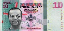 SWAZILAND P. 41 10 E 2015 UNC - Swaziland