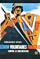 """Militaria WW2 - Photo Affiche """"Engagez Vous Légion Volontaires Français Contre Le Bolchevisme"""" - 1939-45"""