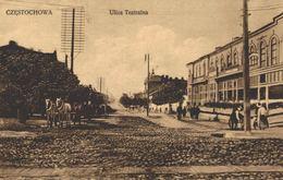 POLSKA - POLAND, CZESTOCHOWA, Ulica Teatralna - 1911 - Polen